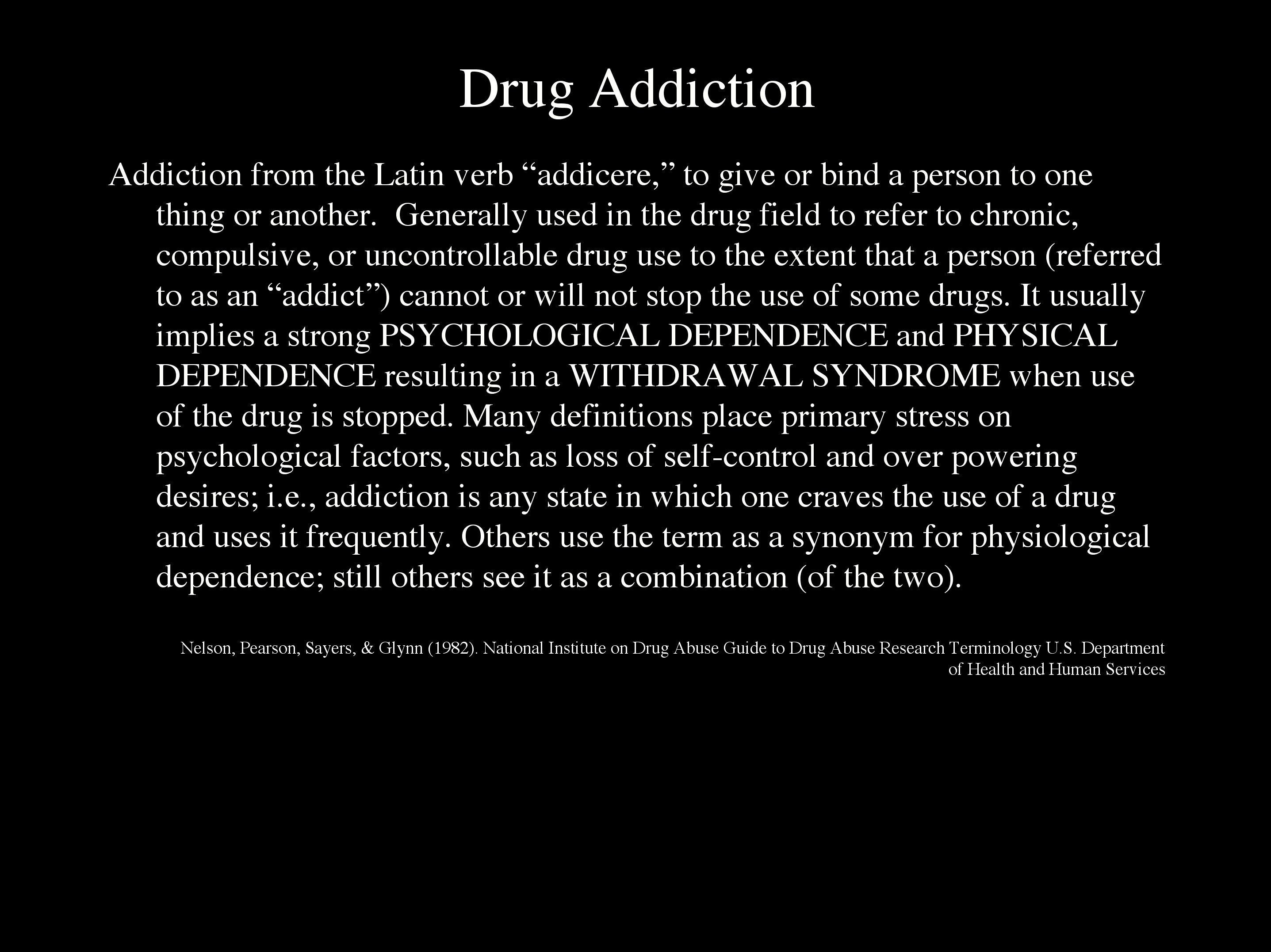 is addiction a spiritual disease essay